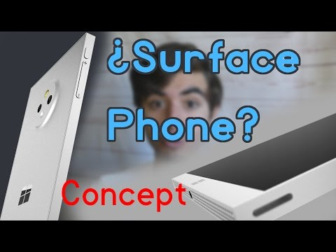 Surface Phone Concept - El futuro de los Lumias y Windows 10 Mobile