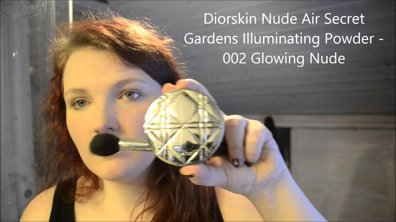 grwm diorskin nude air glowing gardens illuminating powder 002 glowing nude youtube. Black Bedroom Furniture Sets. Home Design Ideas
