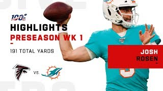 Every Josh Rosen Snap in His Dolphins Debut | NFL 2019 Highlights