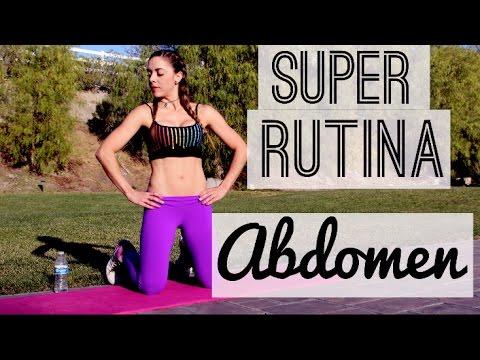SUPER RUTINA ABDOMEN! | Naty Arcila |