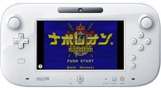 ゲームボーイアドバンス(Wii Uバーチャルコンソール) ナポレオン プレイ...