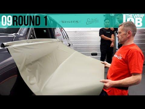 Round 1 - Wrap A Door - The Wrap Job ep09