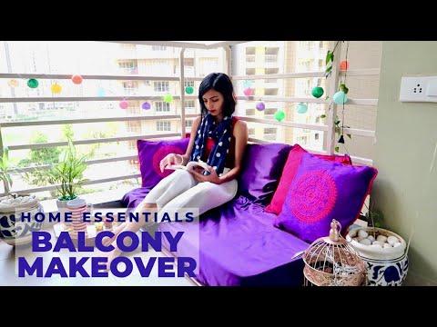Balcony Decor Ideas / Balcony Makeover / Balcony Makeover In Budget / Balcony Tour / Priya Vlogz