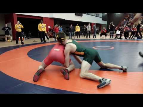 2016 Dino Invitational: 72 kg John Fayad vs. Lucas Hoffert