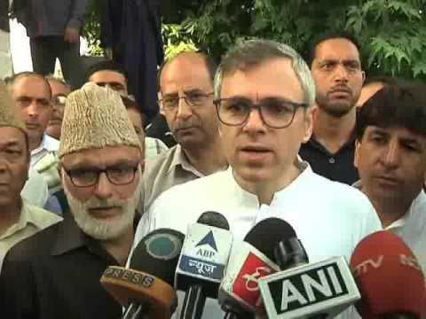Former Chief minister, J&K, Omar Abdullah on Kashmir Situation after militant Burhan wani Killing