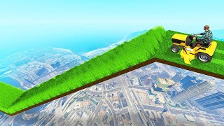 Mile High LAWNMOWER OBSTACLE COURSE In GTA 5!