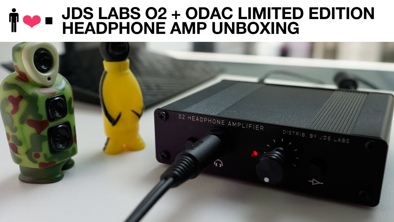 af627466ad7 JDS Labs Objective 2 + ODAC Limited Edition Desktop Amp Unboxing ...