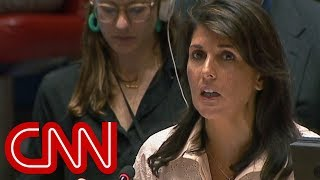 Haley: Gaza violence unrelated to embassy move thumbnail