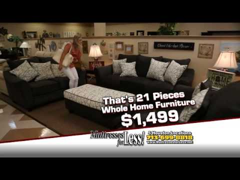 Whole Home Furniture Packages   Mattresses For Less