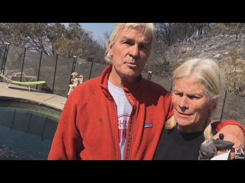 Couple Escapes Wildfire by Taking Shelter in Pool For 6 Hours