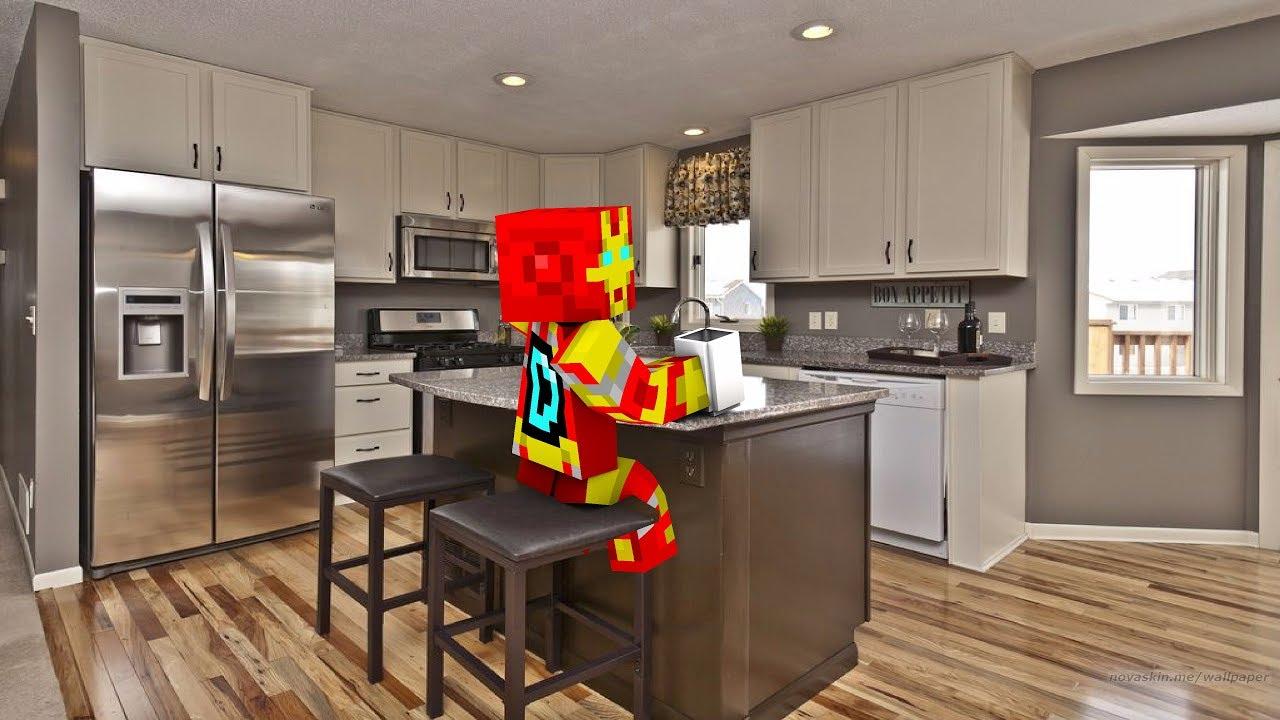 Las mejores decoraciones de minecraft para tu cocina youtube for Decoracion para cocinas