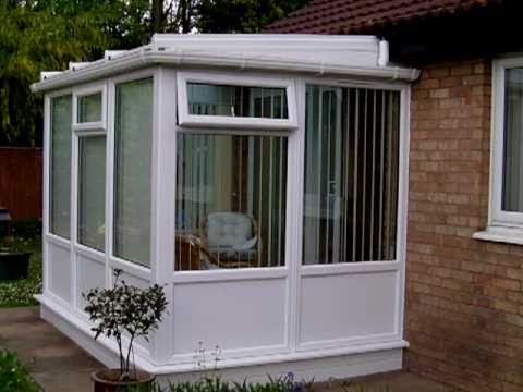 Lean To Solid Panels Upvc Conservatory Sunroom In Stanway, Essex, CO3    YouTube