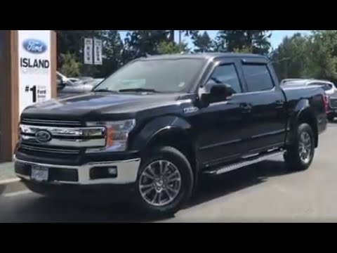 2019 Ford F-150 LARIAT 500A 3.5L SuperCrew W/ Upgades, Tonneau Cover, Side steps review| Island Ford