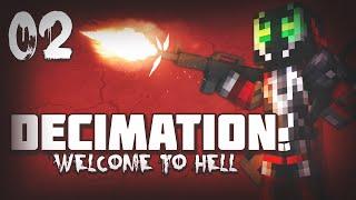 """Decimation #2 """" North West Airfield """" (Minecraft DayZ)"""