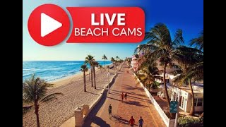 Live Beach Cam Hollywood Beach Broadwalk, Florida