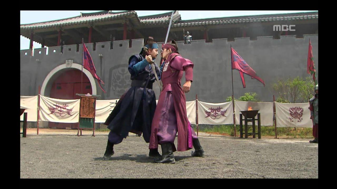 Download [고구려 사극판타지] 주몽 Jumong 대소와의 검투에서 검술 실력을 발휘하는 주몽