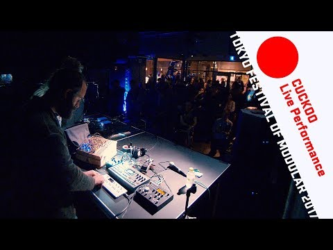 CUCKOO Live performance @Tokyo Festival of Modular 2017