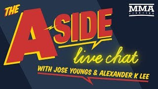 The A-Side Live Chat: UFC Stockholm, roster cuts, Urijah Faber, more - MMA Fighting