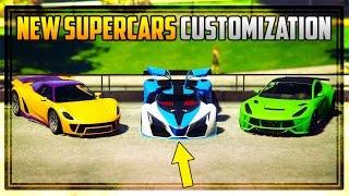 GTA 5 - ALL 3 UNRELEASED ULTRA SUPER CARS CUSTOMIZATION! Grotti X80 Proto, Pfister 811 & Seven 70!