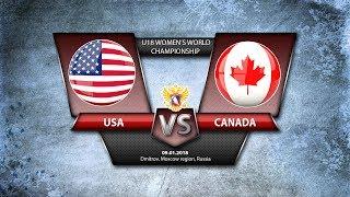 WW U18. USA-Canada