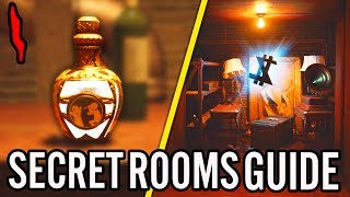 """DEAD OF THE NIGHT"" SECRET ROOMS EASTER EGG GUIDE: FREE ELIXIR/SILVER BULLETS/DROP ON ROUND 1!"