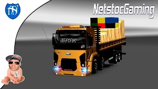 Euro Truck Simulator 2 - ETS 2 Mods Reviews FORD CARGO V 2 by FRANK│NetstocGaming
