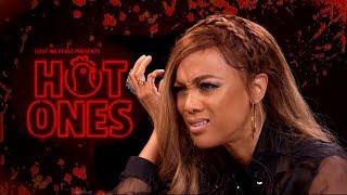 Hot Ones with Tyra Banks, but Sean is a Murderer