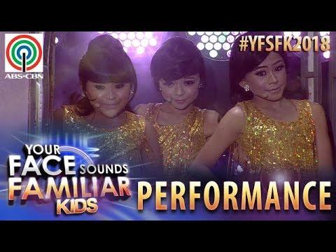 Your Face Sounds Familiar Kids 2018: TNT Boys as Wonder Girls | Nobody