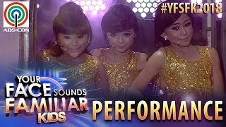 Your Face Sounds Familiar Kids 2018: TNT Boys as Wonder Girls | Nobody