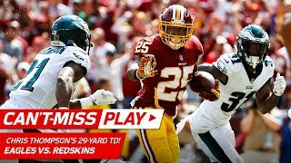 Chris Thompson's Spinning, Tackle-Breaking TD! | Can't-Miss Play | NFL Week 1 Highlights