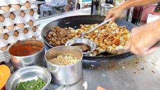 Kuih-Kak at Jalan Chowrasta Georgetown.檳城喬治市吉靈巴剎炒粿角