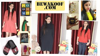 Bewakoof Bewakoof com app Hindi Product Review Benefits Tops Dresses tshirt Slider etc