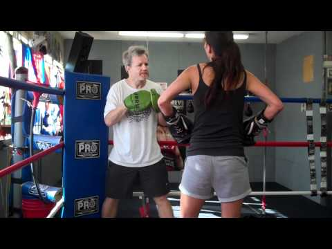Training Session With Freddie Roach 09.13.10