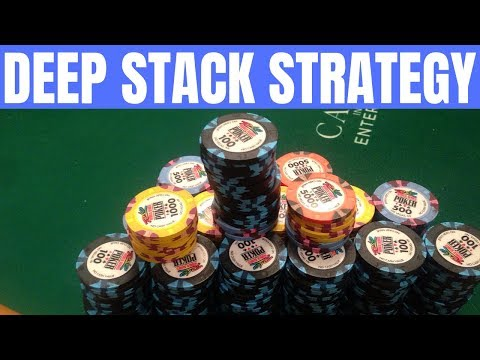 The Best DEEP STACK Poker Strategy (Do This)