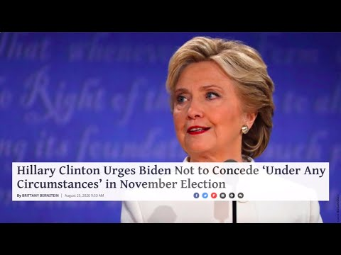 Hillary Clinton Urges Biden Not to Concede 'Under Any Circumstances' in November Election