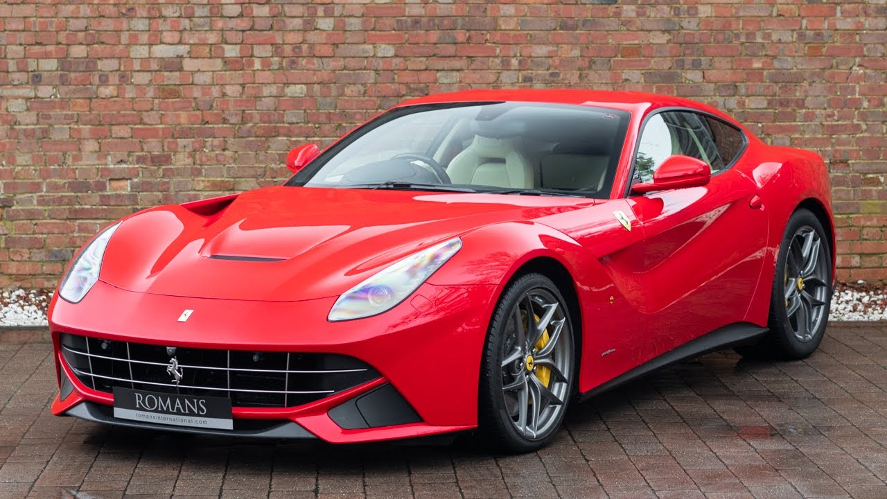2016 Ferrari F12 Berlinetta Rosso Corsa Walkaround Interior Youtube