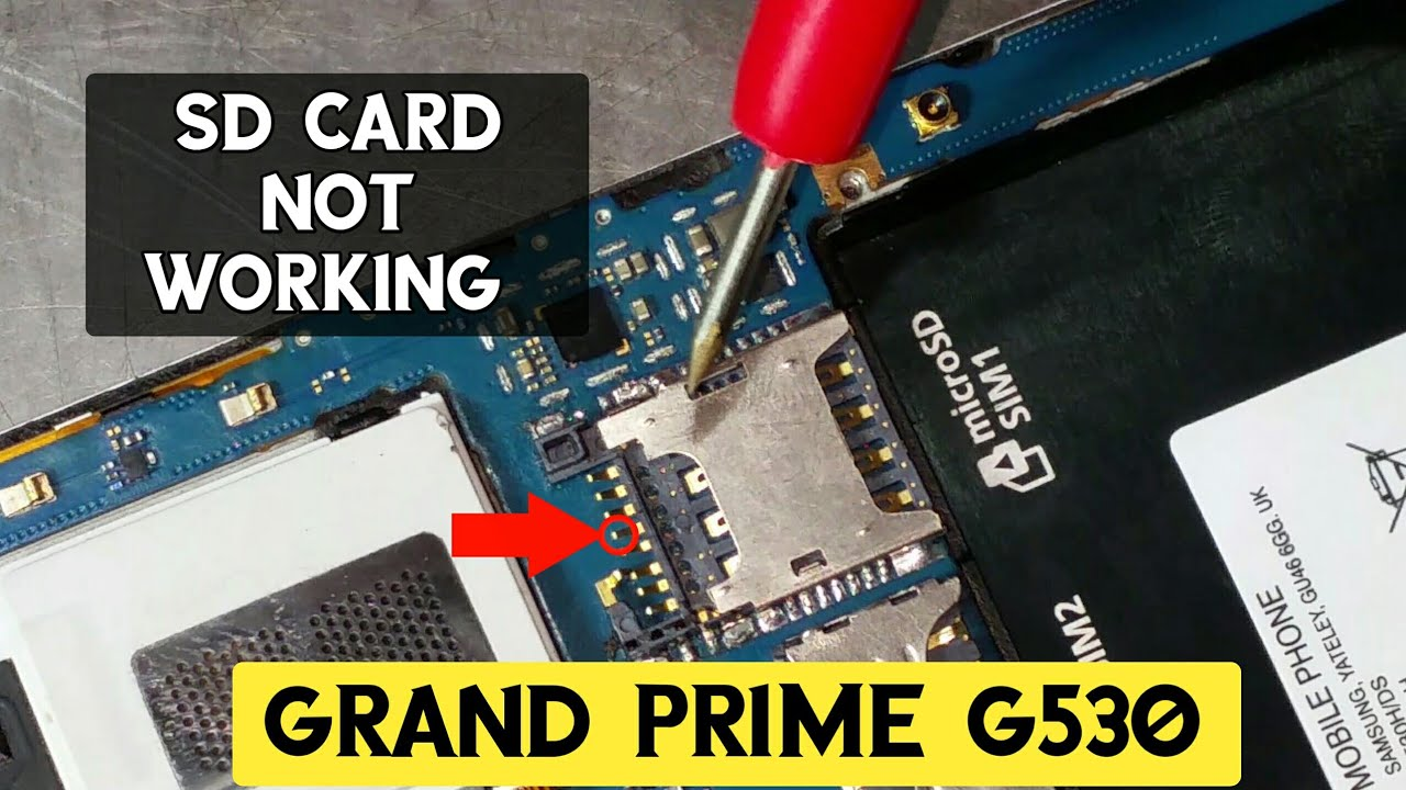 Samsung (Grand Prime) G-530 SD Card Not Working Solution   in Urdu/Hindi