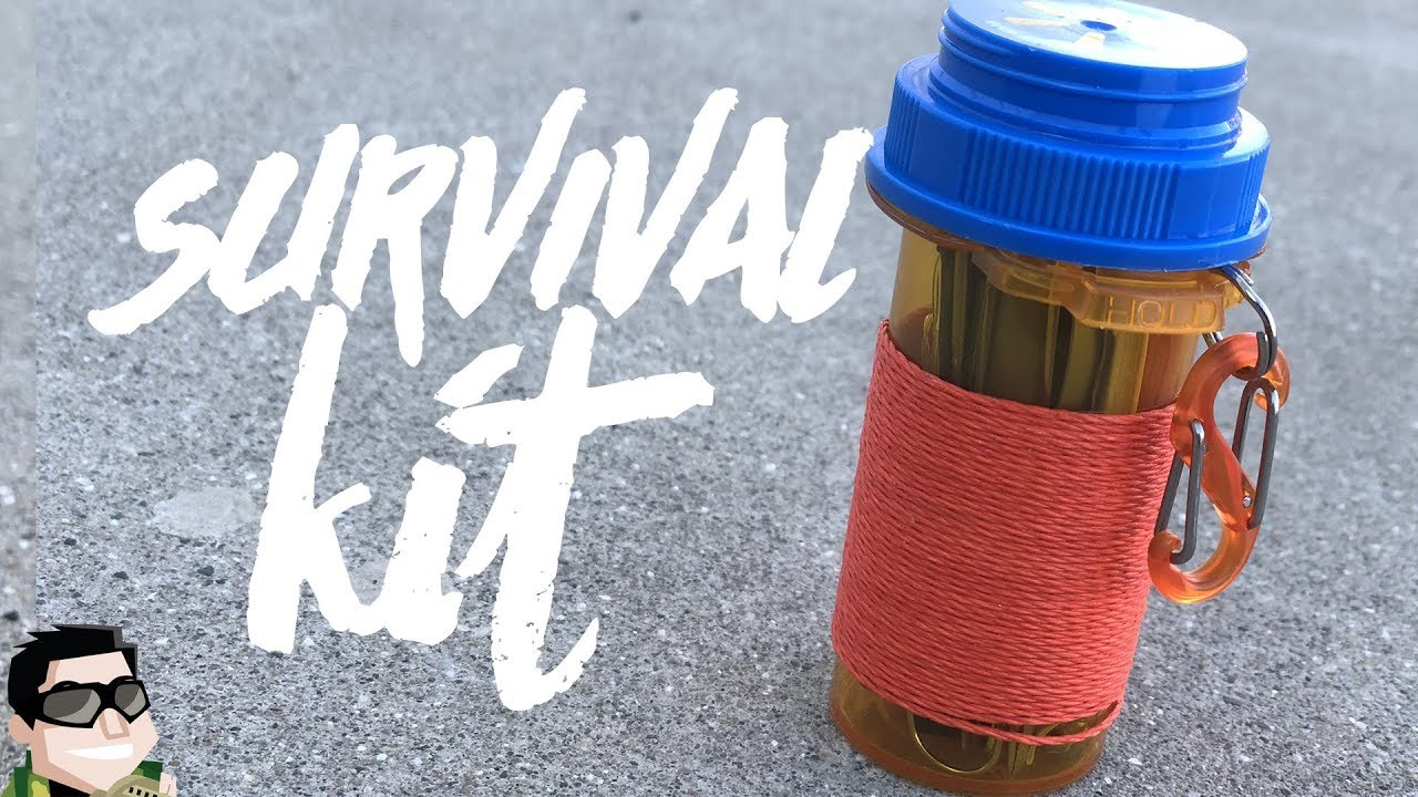 How TO Make A Pill Bottle Survival Kit (DIY)