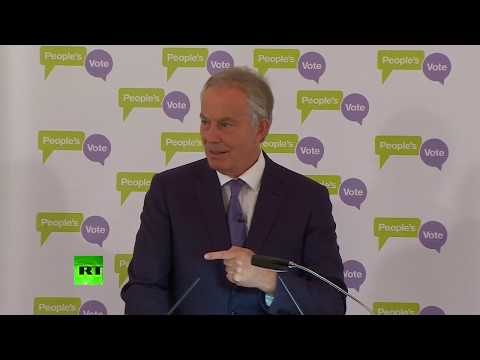 LIVE: Tony Blair addresses Brexit  and his views on the best way forward for the UK & Europe