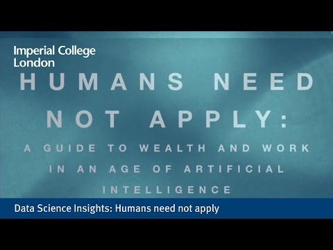 Data Science Insights: Humans need not apply