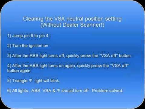 MDX 2003 ABS VSA & /!\ Lights