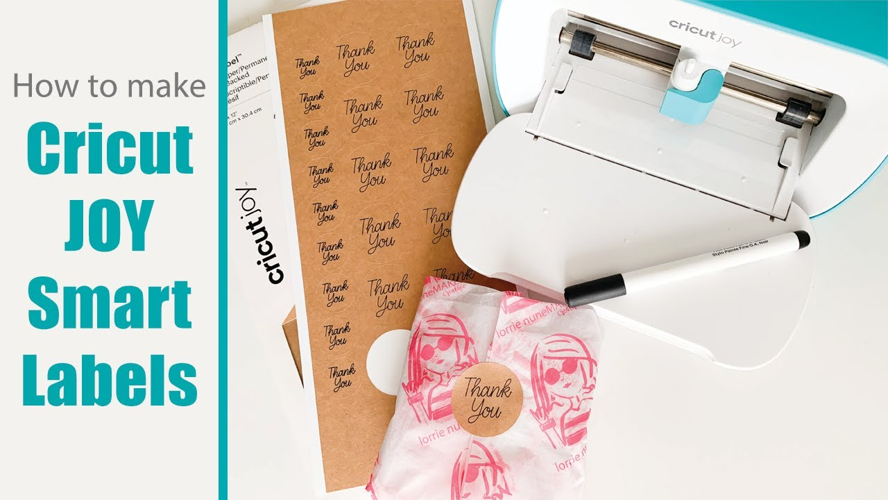 How To Make Labels With The Cricut Joy Youtube