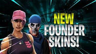 FORTNITE | *NEW* FOUNDER SKINS! *Rose Team Leader, Warpaint Skins* (v5.10 Update)