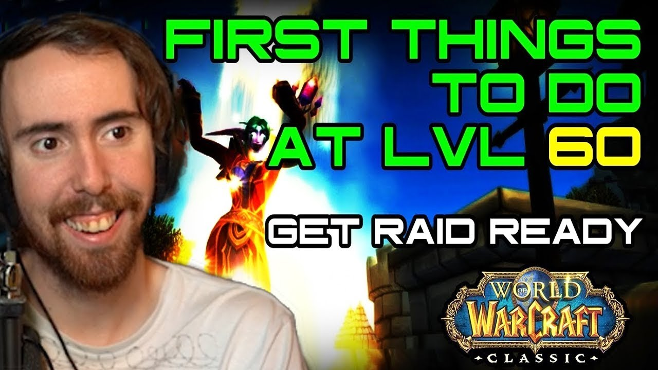Repeat Asmongold Reacts To First Things to do at LVL 60 in