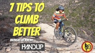 How To Get Better at Climbing On Your Mountain Bike