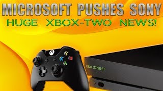 Microsoft Pushes Sony Back! Huge Xbox-Two News Has Sony Freaking Out Over The PS5!