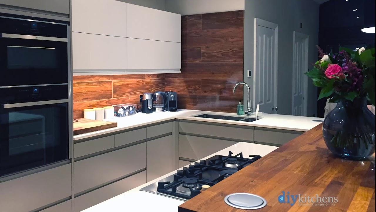 Innova Luca Matt Handleless Kitchens 60 Second Showcase Part 3
