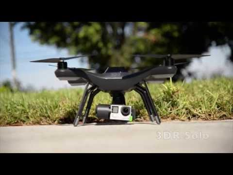 3DR Solo Performing Cable cam, Orbit, and Selfie mode