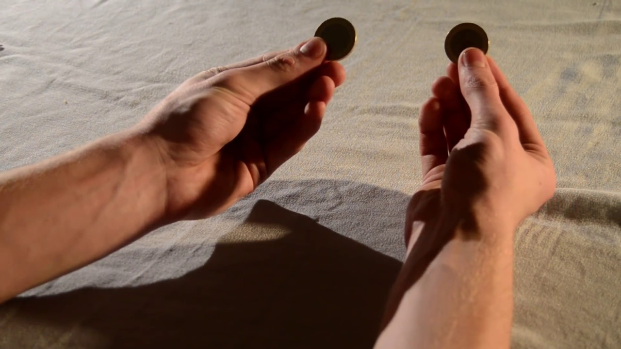 3 Incredible Coin Magic Tricks (Production, Vanish & Jump) - Tutorial