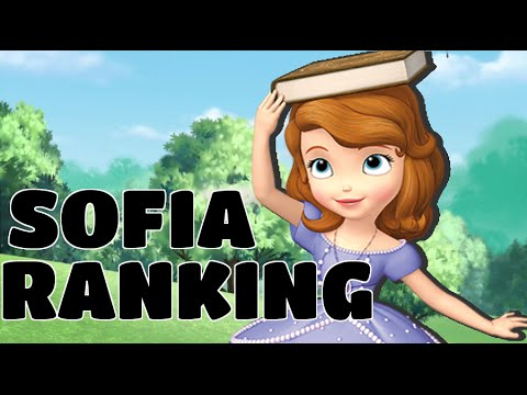 Personal Ranking // Sofia The First